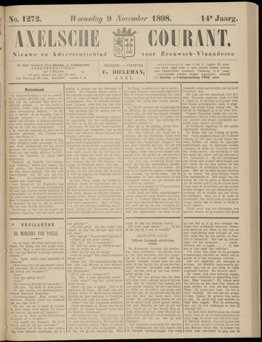 Axelsche Courant 1898-11-09