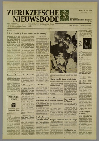 Zierikzeesche Nieuwsbode 1970-04-10