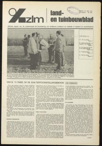 Zeeuwsch landbouwblad ... ZLM land- en tuinbouwblad 1973-06-29