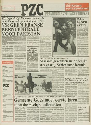 Provinciale Zeeuwse Courant 1976-08-09