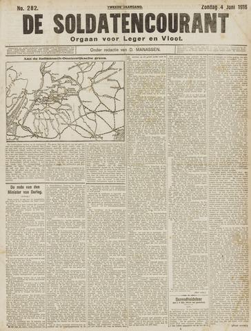 De Soldatencourant. Orgaan voor Leger en Vloot 1916-06-04