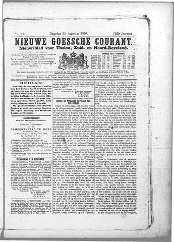 Nieuwe Goessche Courant 1870-08-23