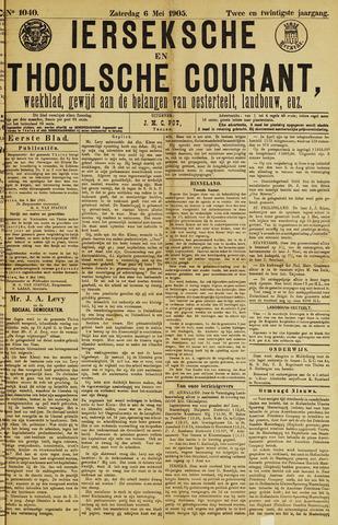Ierseksche en Thoolsche Courant 1905-05-06