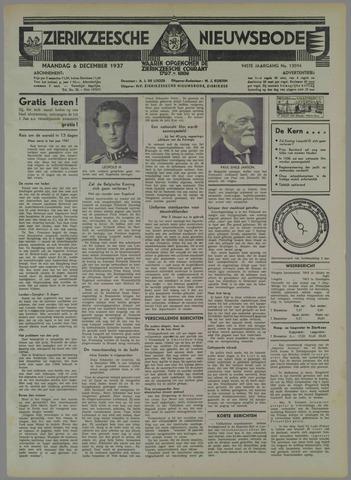 Zierikzeesche Nieuwsbode 1937-12-06
