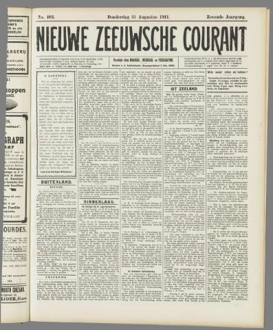 Nieuwe Zeeuwsche Courant 1911-08-31