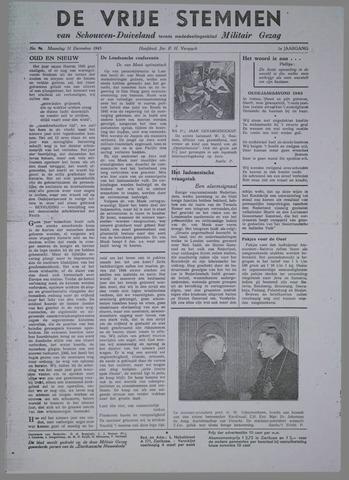 Vrije Stemmen van Schouwen-Duiveland, tevens mededeelingenblad Militair Gezag 1945-12-31