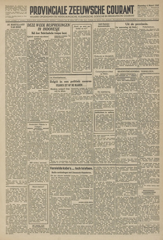 Provinciale Zeeuwse Courant 1946-03-04