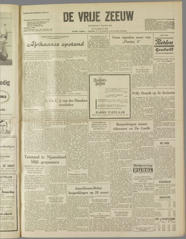 de Vrije Zeeuw 1959-03-07