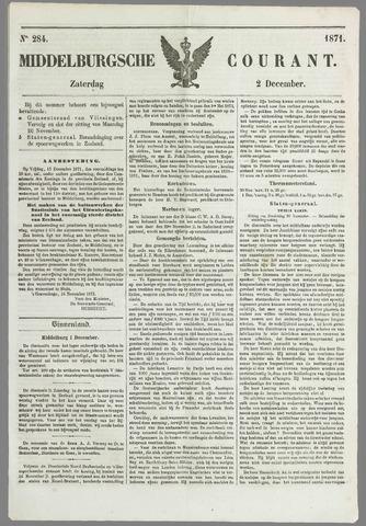Middelburgsche Courant 1871-12-02