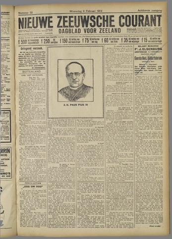 Nieuwe Zeeuwsche Courant 1922-02-08