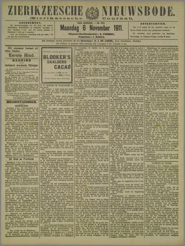 Zierikzeesche Nieuwsbode 1911-11-06