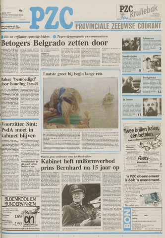 Provinciale Zeeuwse Courant 1991-03-12