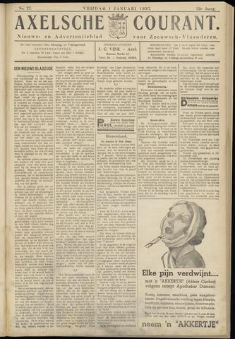 Axelsche Courant 1937