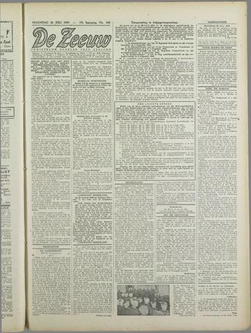 De Zeeuw. Christelijk-historisch nieuwsblad voor Zeeland 1943-07-26
