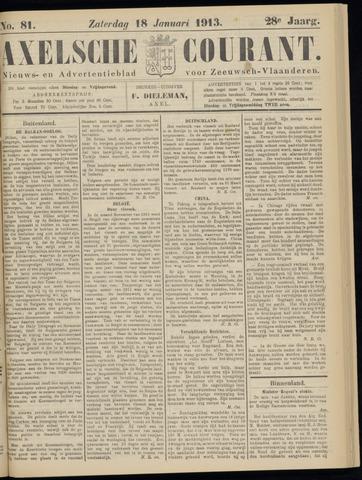 Axelsche Courant 1913-01-18