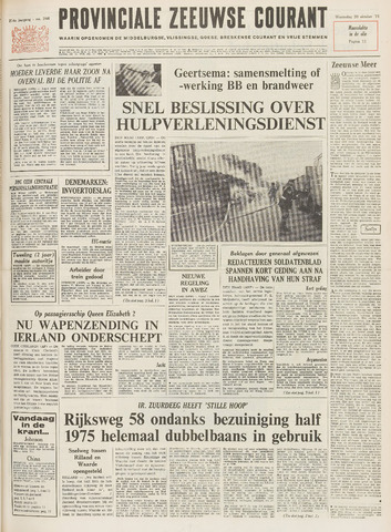 Provinciale Zeeuwse Courant 1971-10-20