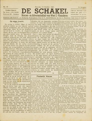 De Schakel 1945-10-15