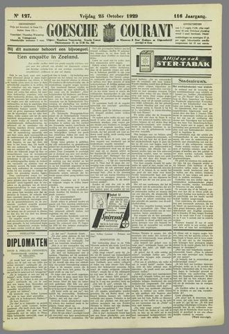 Goessche Courant 1929-10-25