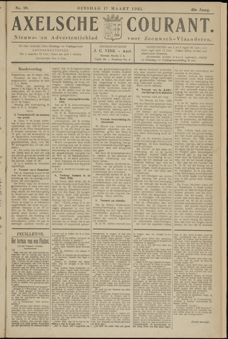 Axelsche Courant 1925-03-17