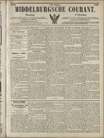 Middelburgsche Courant 1903-10-06