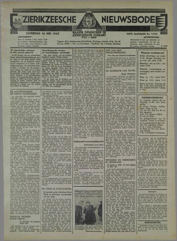 Zierikzeesche Nieuwsbode 1942-05-16