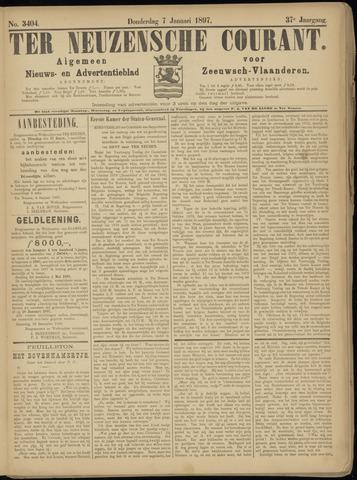 Ter Neuzensche Courant. Algemeen Nieuws- en Advertentieblad voor Zeeuwsch-Vlaanderen / Neuzensche Courant ... (idem) / (Algemeen) nieuws en advertentieblad voor Zeeuwsch-Vlaanderen 1897-01-07