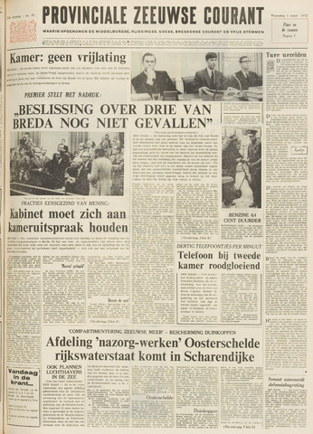 Provinciale Zeeuwse Courant 1972-03-01