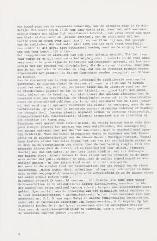 Watersnood documentatie 1953 - tijdschriften 1977