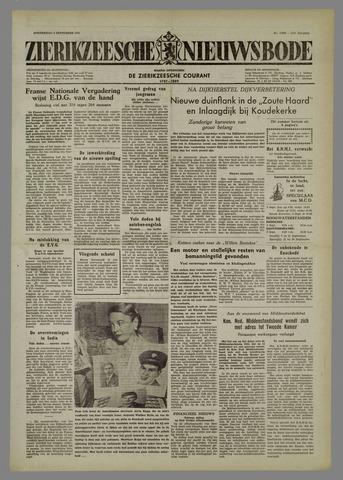Zierikzeesche Nieuwsbode 1954-09-02