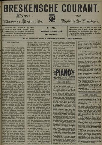 Breskensche Courant 1914-05-16