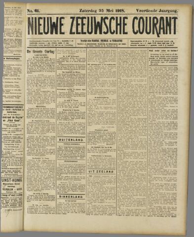 Nieuwe Zeeuwsche Courant 1918-05-25