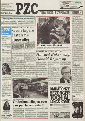 Provinciale Zeeuwse Courant 1987-02-28