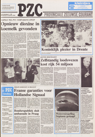 Provinciale Zeeuwse Courant 1989-08-23