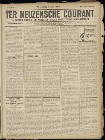 Ter Neuzensche Courant. Algemeen Nieuws- en Advertentieblad voor Zeeuwsch-Vlaanderen / Neuzensche Courant ... (idem) / (Algemeen) nieuws en advertentieblad voor Zeeuwsch-Vlaanderen 1929-06-05