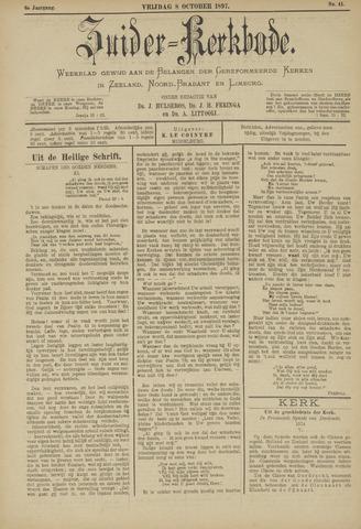 Zuider Kerkbode, Weekblad gewijd aan de belangen der gereformeerde kerken in Zeeland, Noord-Brabant en Limburg. 1897-10-08