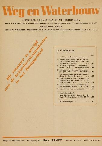 Watersnood documentatie 1953 - tijdschriften 1953-11-01