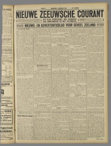 Nieuwe Zeeuwsche Courant 1926-08-05