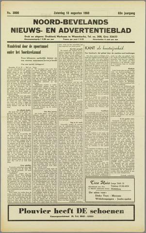 Noord-Bevelands Nieuws- en advertentieblad 1960-08-13