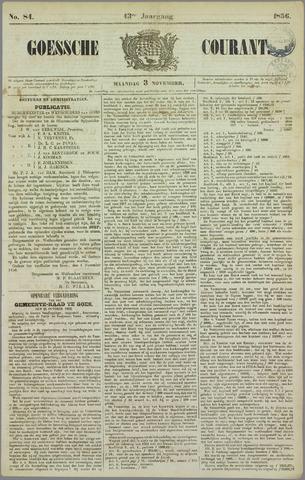 Goessche Courant 1856-11-03