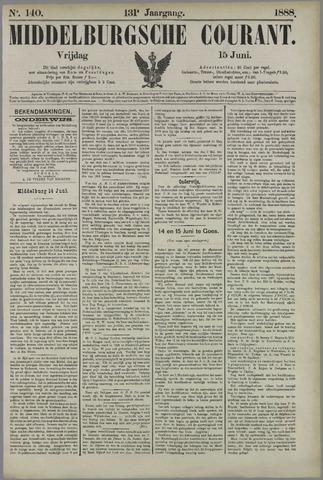 Middelburgsche Courant 1888-06-15