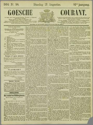 Goessche Courant 1894-08-21