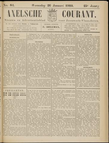 Axelsche Courant 1910-01-26