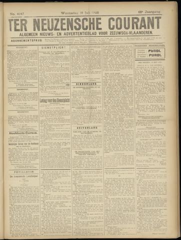 Ter Neuzensche Courant. Algemeen Nieuws- en Advertentieblad voor Zeeuwsch-Vlaanderen / Neuzensche Courant ... (idem) / (Algemeen) nieuws en advertentieblad voor Zeeuwsch-Vlaanderen 1928-07-18