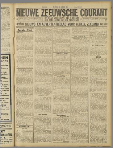 Nieuwe Zeeuwsche Courant 1926-01-23
