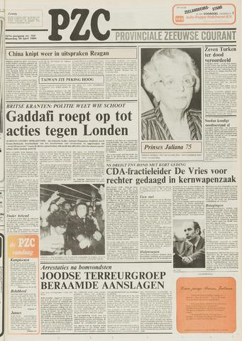 Provinciale Zeeuwse Courant 1984-04-30