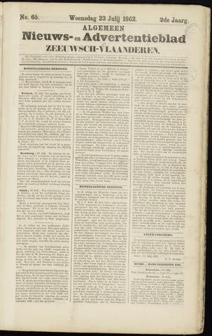 Ter Neuzensche Courant. Algemeen Nieuws- en Advertentieblad voor Zeeuwsch-Vlaanderen / Neuzensche Courant ... (idem) / (Algemeen) nieuws en advertentieblad voor Zeeuwsch-Vlaanderen 1862-07-23
