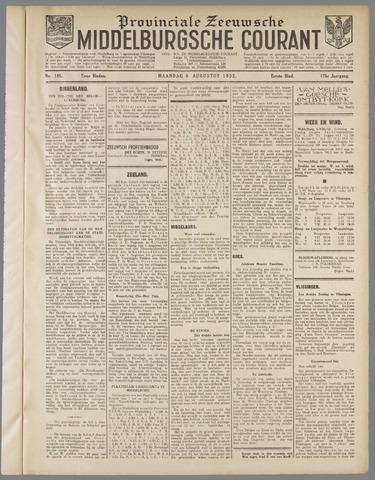 Middelburgsche Courant 1932-08-08