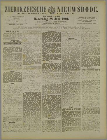 Zierikzeesche Nieuwsbode 1906-06-28