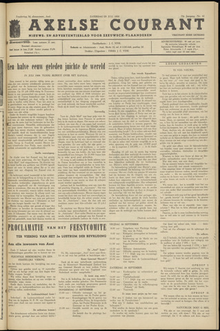 Axelsche Courant 1959-07-25