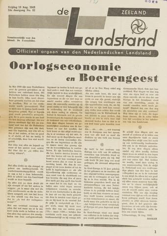 De landstand in Zeeland, geïllustreerd weekblad. 1943-08-13